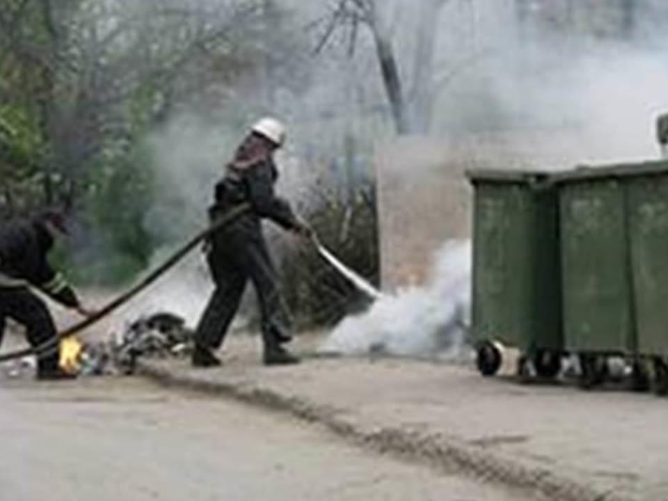 Пожарно-спасательное подразделение МЧС России ликвидировало пожар на территории Черняховского ГО