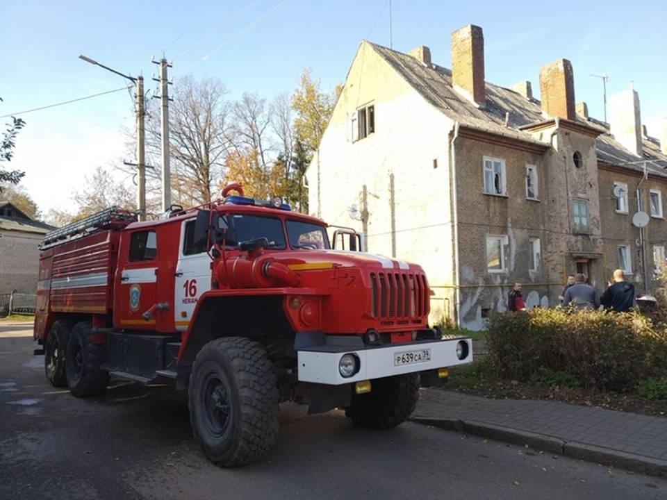 Пожарно-спасательные подразделения МЧС России реагировали на пожар на территории Советского ГО