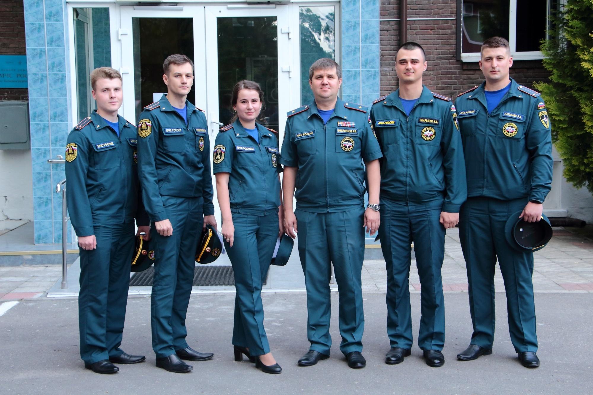 В Главное управление МЧС России по Калининградской области прибыло пополнение